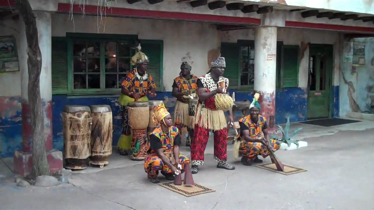 WDW Animal Kingdom Kobake Authentic African Drums