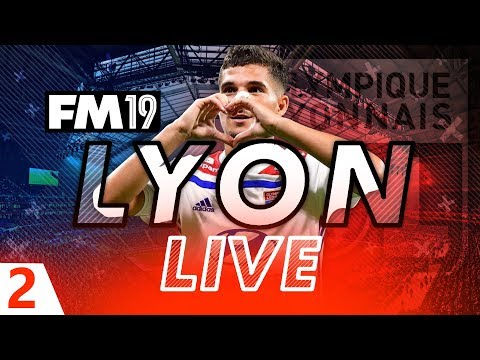 Football Manager 2019 | Lyon Live #02: Staff/Scouting Set Up