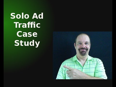 Getting Results - Solo Ad Traffic Case Study From This Weeks Campaign