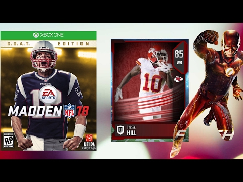 TOP 5 FASTEST PLAYERS IN MADDEN 18!!!?