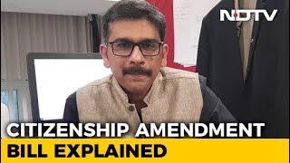 What Is Citizenship Amendment Bill?   NDTV Newsroom Live