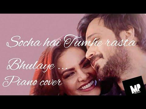 Baadahaho: socha Hai song   Emraan Hashmi, Esha Gupta   Mobile Piano   piano cover