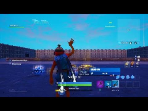 How to change size of Llama in Fortnite Creative Mode PS4 [Read description]