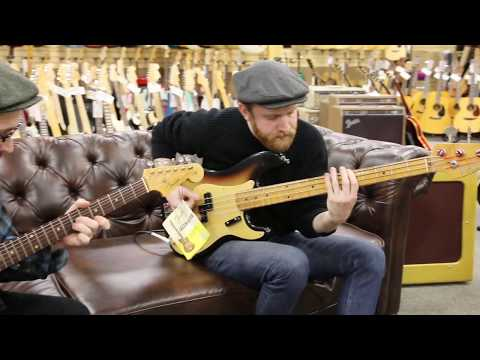 Black Flamingos - 1960 Fender Jazzmaster & 1959 Fender Precision Bass at Norman's Rare Guitars