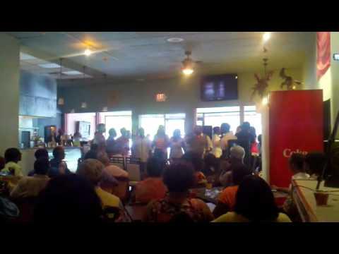Trey McLaughlin and SOZ singing Stevie Wonder