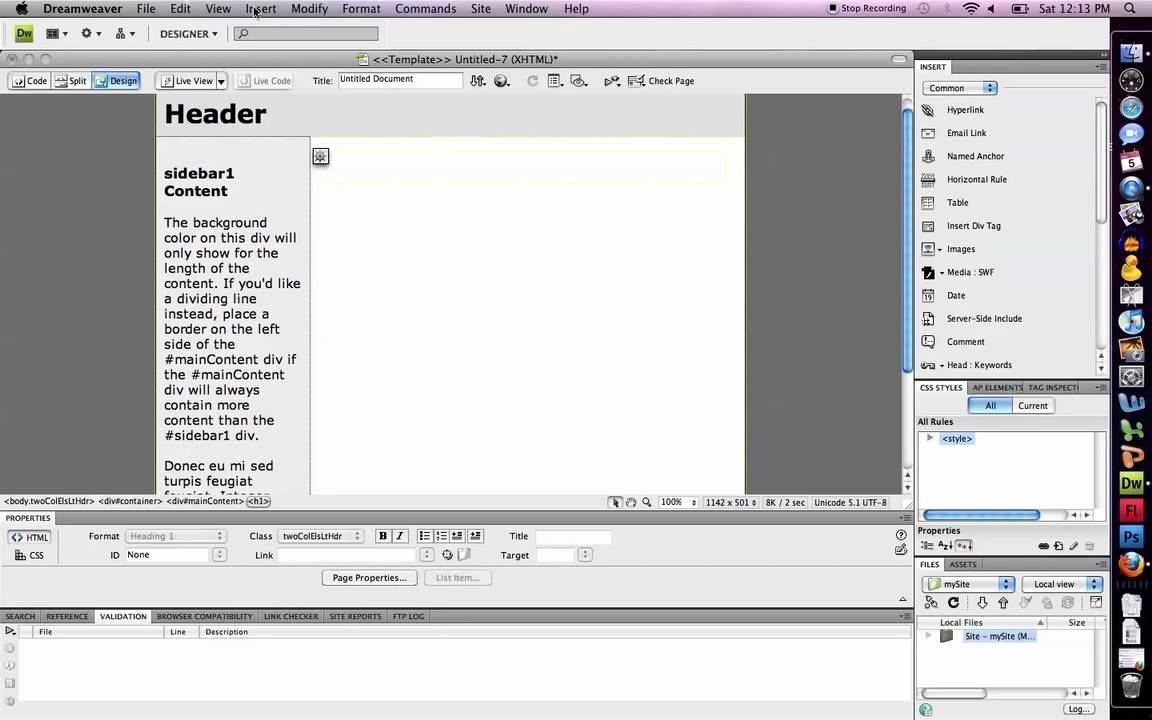 Dreamweaver linking penetration — photo 5