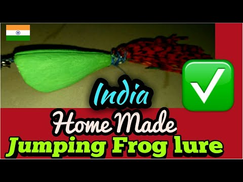 Homemade jump frog lure