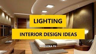 45+ Creative Lighting Interior Design Ideas for House 2018