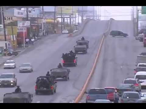 Balacera Reynosa parte 1 - 17 Febrero 2009