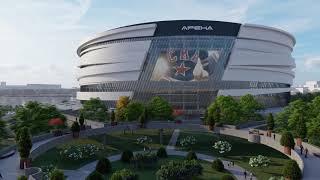 Проект новой арены в Санкт-Петербурге к ЧМ 2023