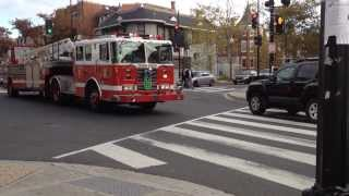 COOL Fire Trucks and Ambulances Responding, for Kids