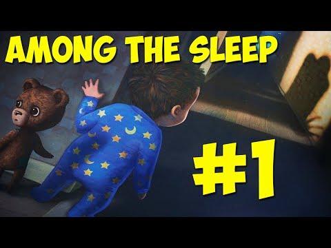МЕДВЕЖОНОК ТЕДДИ   Страшное прохождение Among The Sleep 1