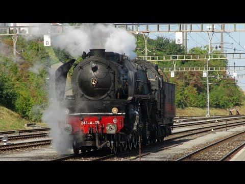 "Steam Adventure - With SNCF 241-A-65 into the ""Seeland"""