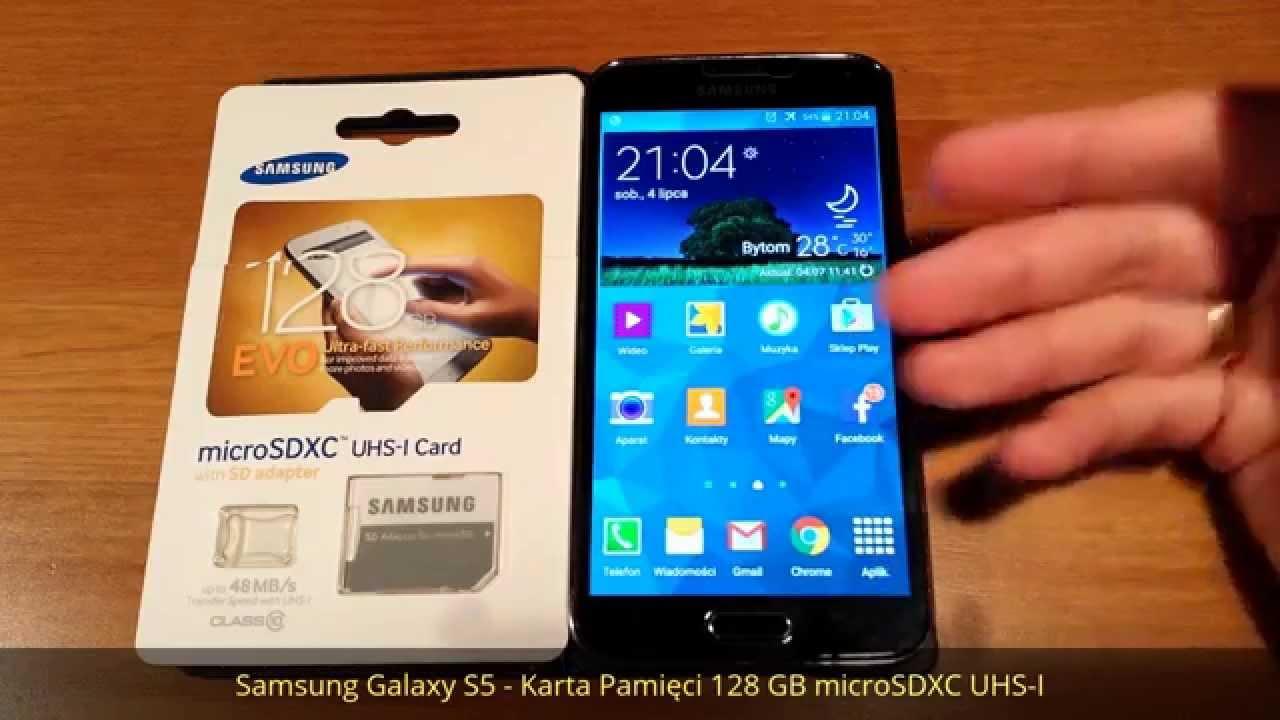 Samsung Galaxy S5 Karta Pamieci 128 Gb Microsdxc Uhs 1 Uzywacie