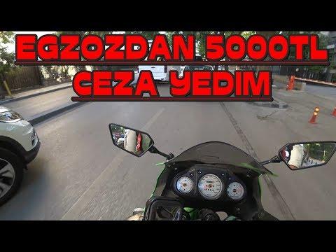 5000 TL TRAFİK CEZASI YEDİM   EGZOZ PİŞMANLIKTIR