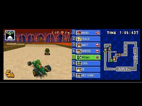 Mario Kart DS Walkthrough - 100cc Shell Cup & Banana Cup #7