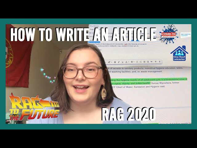 How to Write an Article with Kika | RAG 2020