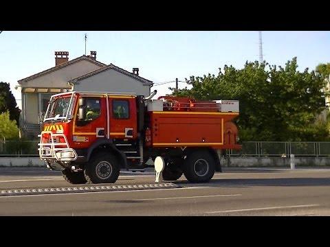 Compilation départs sapeurs-pompiers d'Avignon (84)