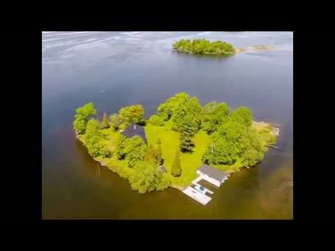 Content Island Island FOR SALE in Dundee, Quebec (1 hour from Montreal)
