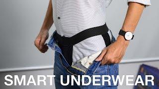[18+] Smart Underwear: Vừa là đồ lót, vừa giữ áo sơ mi cố định lúc sơ vinh