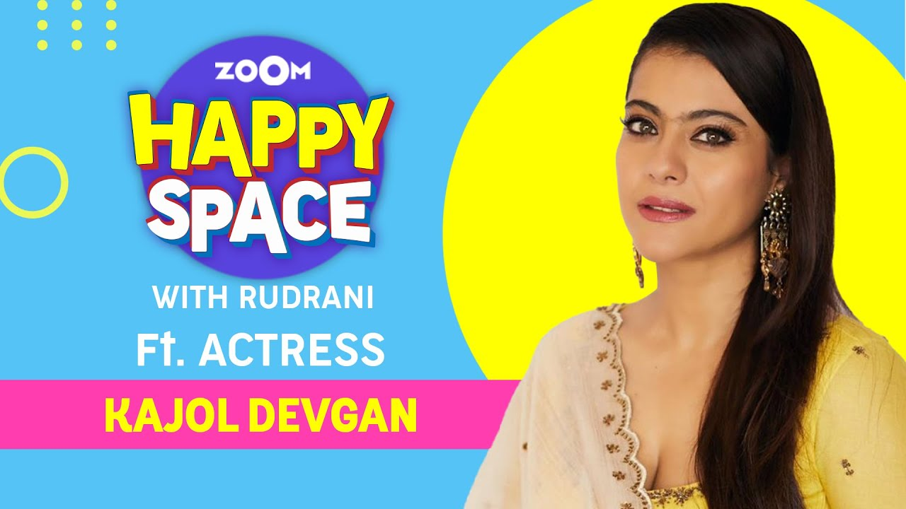 Kajol | Tribhanga | Episode 37 | Zoom Happy Space | Full Interview