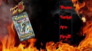 THESE PACKS ARE STRAIGHT FIRE!!! NEW POKEMON LOST THUNDER BOOSTER BOX OPENING!!!