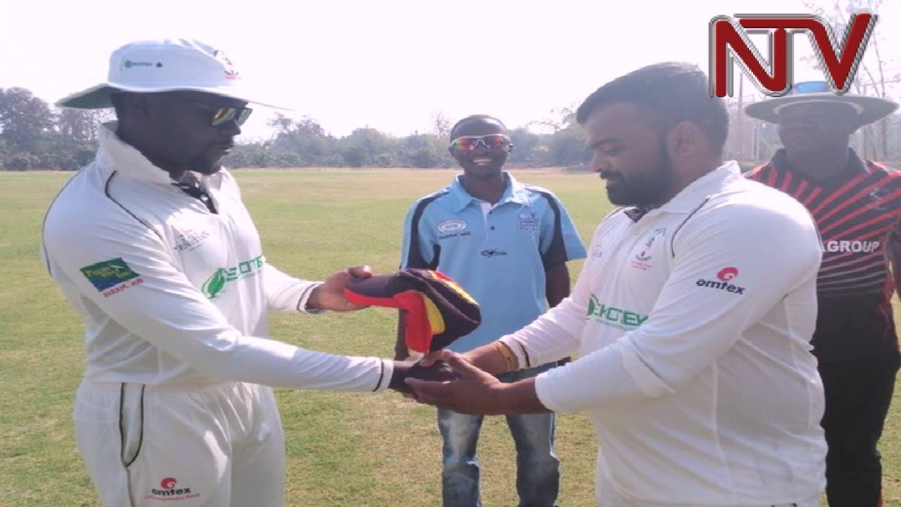 Uganda's Cricket team plays final match in India tour