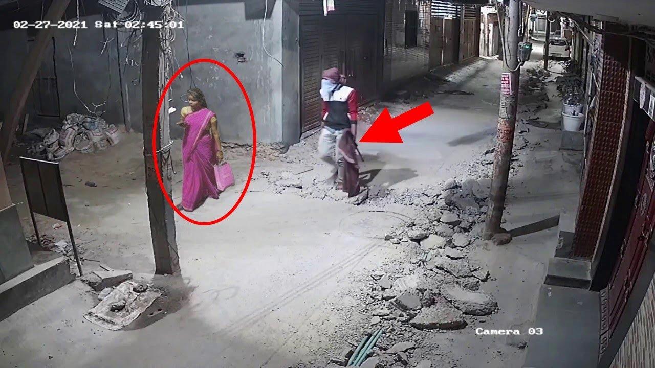 लड़की ने जो किया उसे देख वो खुद भी हैरान रह गयी , कैमरे में कैद कुछ खौफनाक वीडियोस ,Camera caught 11