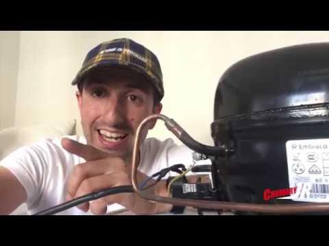 como hacer un compresor de aire casero