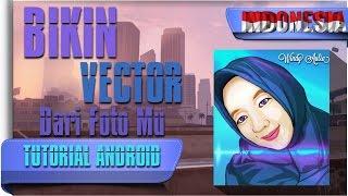 Cara Edit Foto Vector/Kartun di Android - Tutorial Android #32