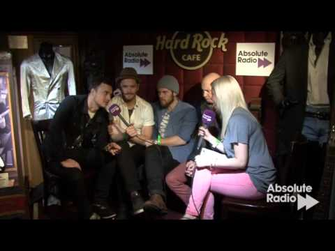 The Fray interview on Absolute Radio at Hard Rock Cafe London