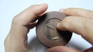 에반스빌 휴대용 원목 블루투스 스피커 ( EVANS VILLE MP3 ) 작동방법