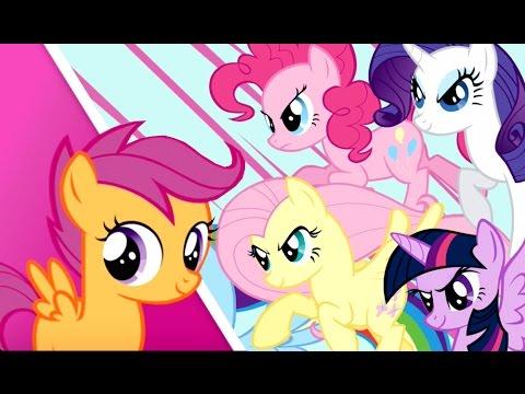1-я Серия - My Little Pony - Миссия Гармонии - Игра про Мультики Май Литл Пони на русском