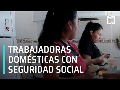 IMSS anuncia lanzamiento del programa piloto para trabajadoras del hogar