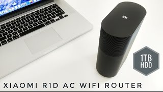 Xiaomi Mi R1D AC WiFi Router 1TB HDD - REVIEW - Great for Kodi users!