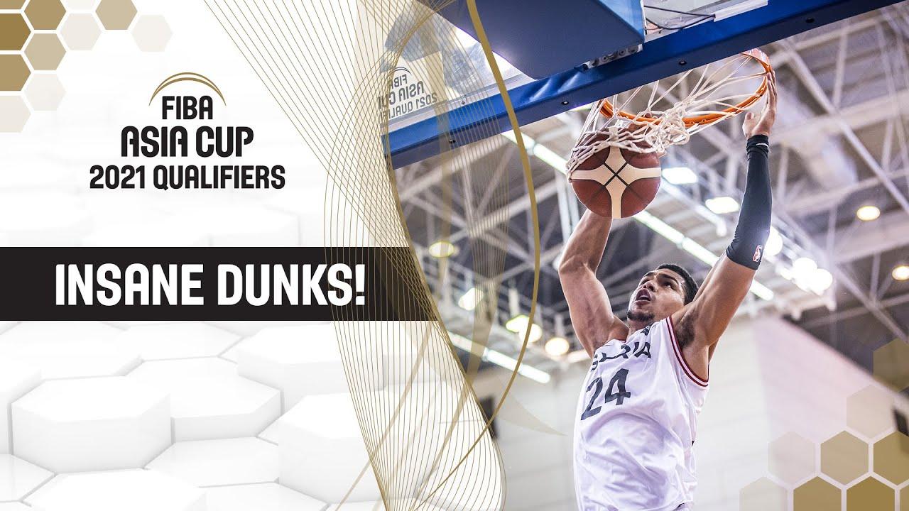 Top Dunks feat. Kobe Paras, Lester Prosper & Co. | FIBA Asia Cup 2021 Qualifiers Window 2