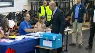 Israelis Head to Ballot Box to Elect New Govt.
