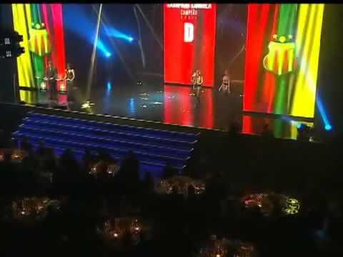 Premiação do Brasileirão 2012 - Sampaio Corrêa Campeão da Série D