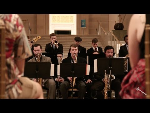 GW Jazz Orchestra performs in the Corcoran Atrium