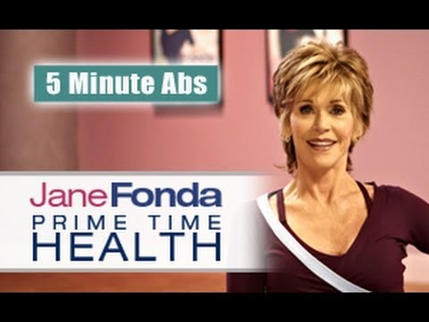 Jane Fonda: 5 Minute Abs  - Primetime Health