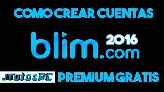 Como crear cuentas blim gratis + cuentas de regalo | TeamNights | JTutos PC