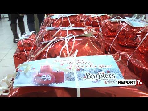 Report TV -  Bankers Petroleum ofron pako ushqimore për familjet në nevojë