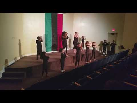 Black Voices Matter festival 'SHE' performance BCAI School of Arts
