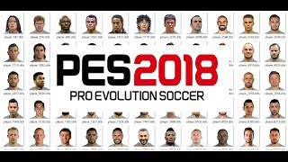 Easy way to make miniface for PES 2018/PES 2017