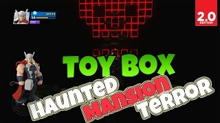 Disney Infinity 2.0: Toy Box - Haunted Mansion Terror (Marvel Super Heroes Gameplay)