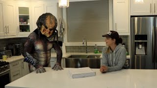 When blitz handsome met the predator --and yes this video is pg haha! watch till end 😂 from film franchise, also known as a yau...