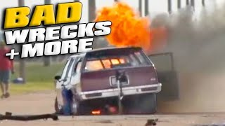 Wrecks, Fires, SKETCHY Races - EPIC  Compilation