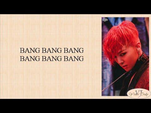 BIGBANG - BANG BANG BANG (뱅뱅뱅) Easy Lyrics