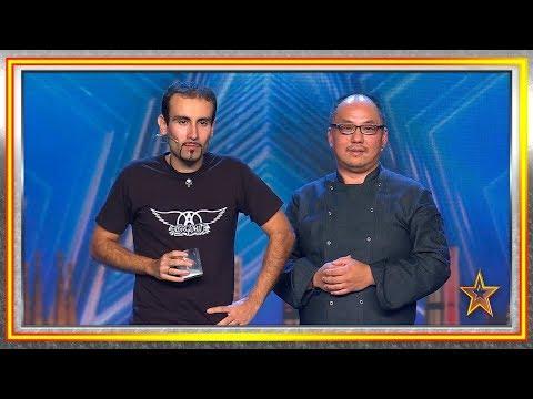 El jurado sufre al probar el cóctel más picante del mundo | Audiciones 3 | Got Talent España 2019