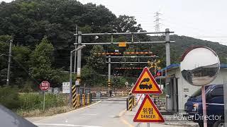 경부선 화물열차 무궁화호 통과